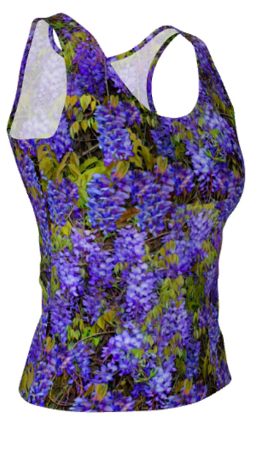 WisteriaFitted TankTop