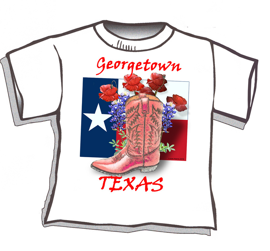 Flag & Boot T-shirt Form