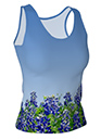 BluebonnetFittedTank Top2