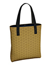 HexagonalGoldToteBagLined